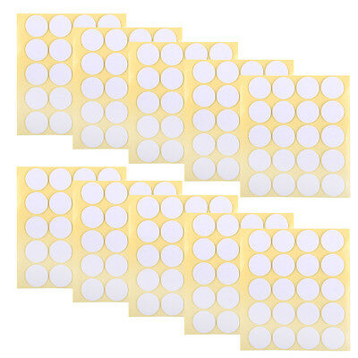 200pcs 20mm  Candle Making Wick Stickers Glue Balloon Envelope Adhesive Dots