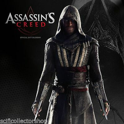 Assassin's Creed Official 2017 Wall Calendar - 30x30cms - Full of movie images