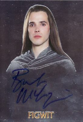 Lord of the Rings Trilogy Bret McKenzie as Figwit Auto Card LotR