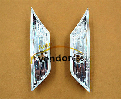 Clear Side Marker Lights 10Th Gen Civic Sedan Coupe Without Bulb 2016 2017