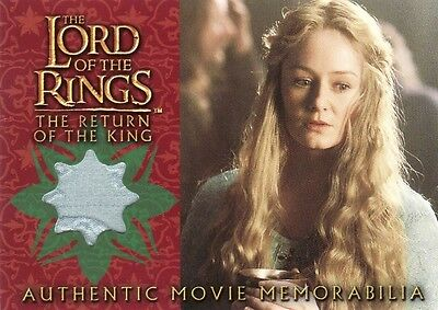Lord of the Rings Return of the King Eowyn's Golden Hall Dress Costume Card LotR