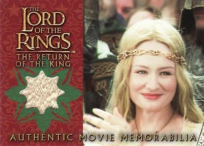 Lord of the Rings Return of the King Eowyn's Coronation Dress Costume Card LotR