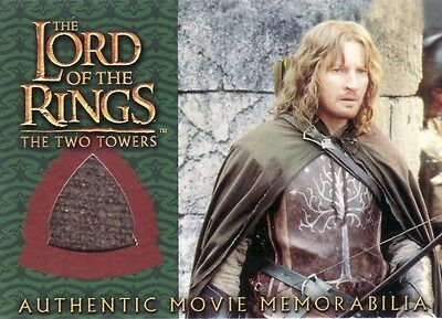 Lord of the Rings The Two Towers Faramir's Ranger Outfit Costume Card LotR