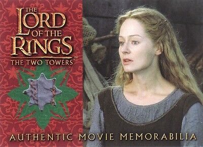 Lord of the Rings The Two Towers Eowyn's Underfrock Costume Card LotR