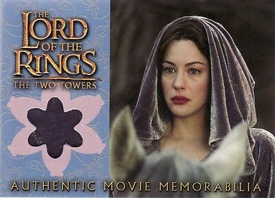 Lord of the Rings The Two Towers Arwen's Requiem Cloak Costume Card LotR