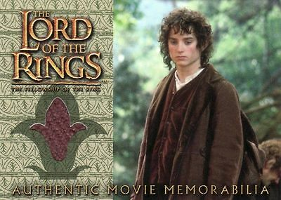 Lord of the Rings Fellowship of the Ring Frodo's Travel Coat Costume Card LotR