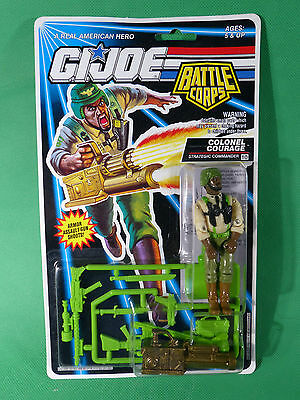 6777   GI Joe Battle Corps Colonel Courage   Action Figure 1992   MOSC NOS