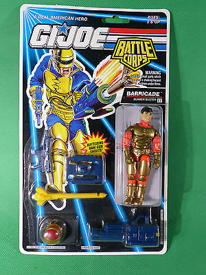 GI Joe Battle Corps Barricade   Action Figure 1992   MOSC NOS