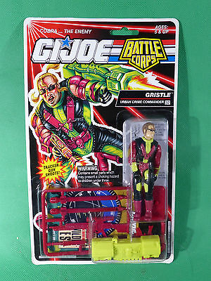 GI Joe Battle Corps Gristle Action Figure 1992   MOSC NOS