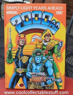 2000AD Annual 1987 Excellent Condition