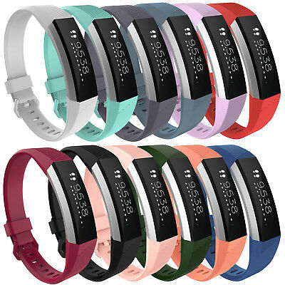 Silicone Wristband Wrist Band Strap Bracelet For Fitbit Alta HR Tracker Size S,L