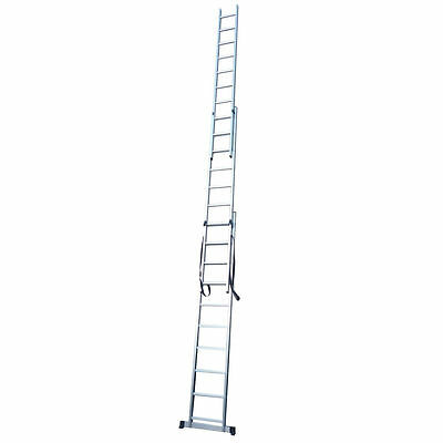 New Aluminium Domestic Double & Triple Section Extension Ladders