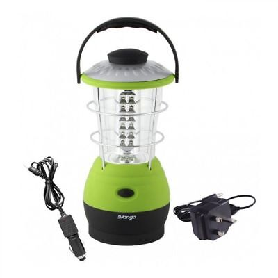 Vango Galaxy 60 Rechargeable Camping Hanging Lantern Light Torch - Herbal Green