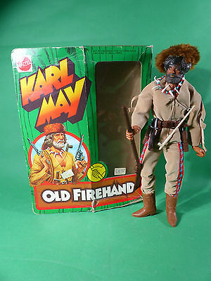 Big Jim 9497 Karl May Old Firehand Figur  in originaler  Box