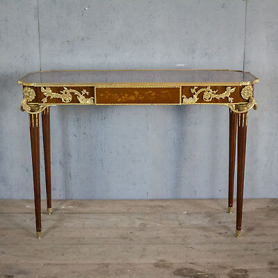 Lovely French Antique Console Table With Bronze, Louis XV