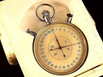 Soviet stopwatch, chronometer. SLAVA (20 jewels). USSR.