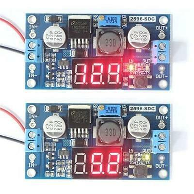 LM2596LED Voltage Regulator DC Buck Adjustable Step Down Converter Module New C@
