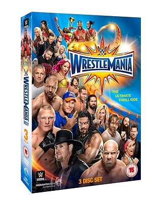 WWE: WrestleMania 33 (Box Set) [DVD]