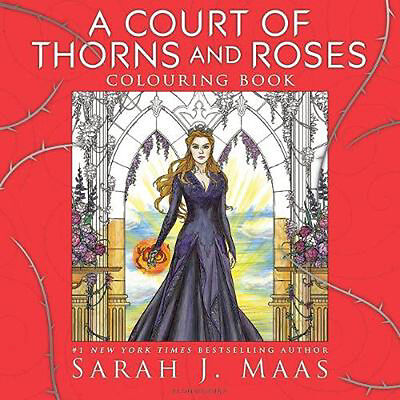 A Court of Thorns and Roses Colouring Book | Sarah J. Maas