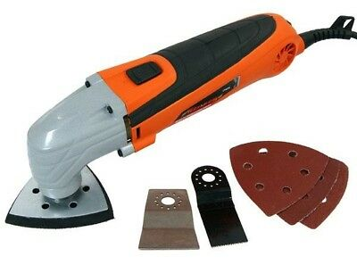 300W Multi Function Oscillating Sander Cutter Scraper Grinder Multi Tool New