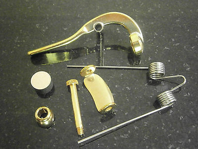 Complete Trombone Waterkey Assembly.  Generic and will fit all makes and models