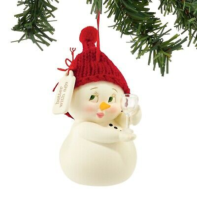 Department 56 Snowpinion Better With Age Wine Ornament 4053142