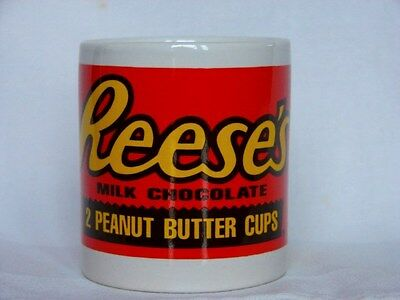 Reese's Peanut Butter Chocolate Candy Mini Coffee Tea Cup Mug Collectible Gift