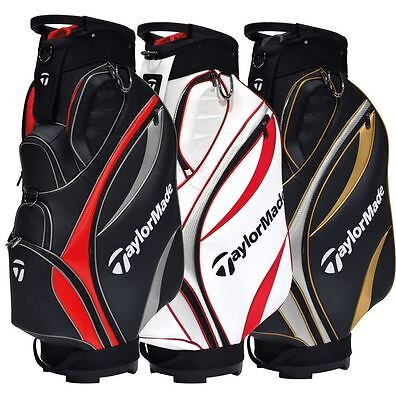 NEW TaylorMade 2016 Monaco Water Repellent Golf Cart Bag - Choose Colour
