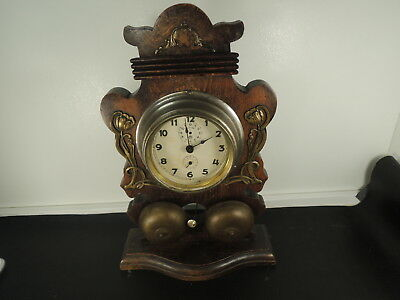 Art deco cabinet-House JUNGHANS German stand Alarm Clock Desk Table Watch