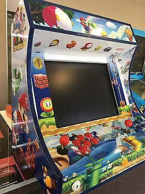 Arcade cabinato bartop retro game gaming mini cab video game giochi arcade wifi