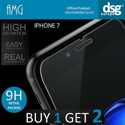 AMG 9H HIGH QUALITY REAL TEMPERED GLASS SCREEN PROTECTOR FOR iPHONE 7 4.7