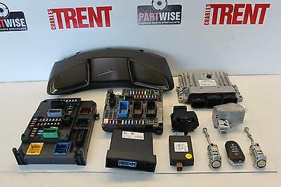 2013 CITROEN DS5 1997cc Diesel ECU Engine Control Unit Kit Parts 9666912580