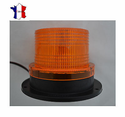 12V LED voiture camion magnétique avertisseur Flash Beacon Strobe Emergency lamp