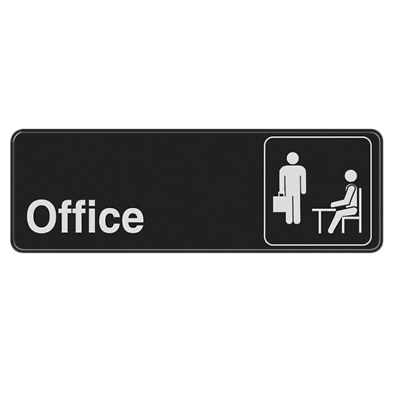 """The Hillman Group #841754 3"""" x 9"""" Office Sign"""