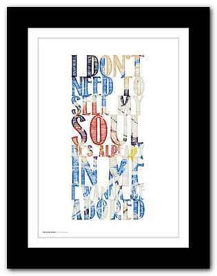 THE STONE ROSES ❤ I Wanna Be Adored ❤ poster art edition ed print in 5 sizes #5
