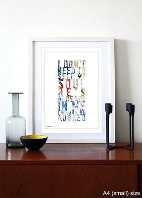 THE STONE ROSES ❤ I Wanna Be Adored ❤ poster art edition ed print in 5 sizes #8