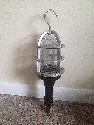 Stewart R. Browne NYC Explosion Proof # VF Incandescent Hand / Shop Lamp No Cord