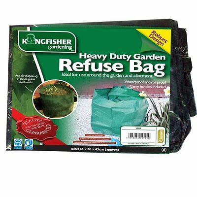 Heavy Duty Garden Refuse Bag Bags Waterproof and Rot Proof with Cary Handles