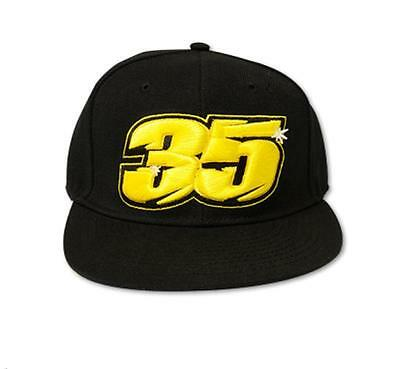 Official Cal Crutchlow 35 Flat Cap VR46 MotoGP - One Size Fits All