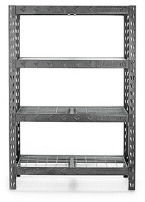 Gladiator 72 in 4-Shelf Welded Steel Garage Shelving Unit Holds Up to 6,000 NEW