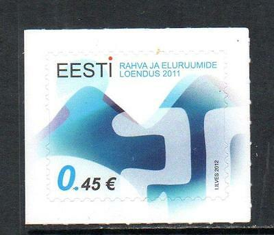 Estonia MNH 2012 Population and Housing Census