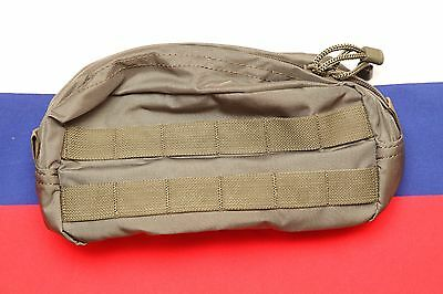 Russian army special forces SSO SPOSN horizontal utility zipped molle pouch
