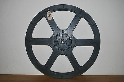 Cinemeccanica 6000ft spool reel for 35mm movie film, cinema collectable item