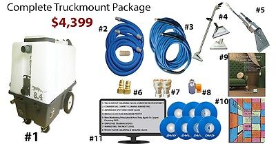 Electric Truckmount Carpet & Grouted Tile Cleaning - $0 Down $121/m