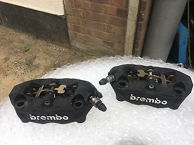 BMW R1200GS LC 2016 Brembo front brake calipers, pair And Pads