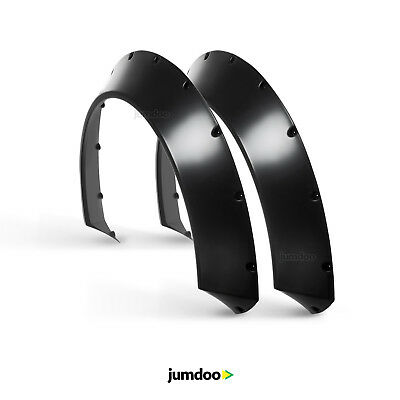 """Universal JDM Fender flares CONCAVE over wide body wheel arches ABS 2.75"""" 2pcs"""