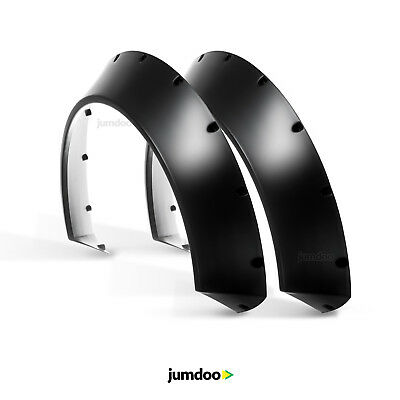 Universal Fender Flares CONCAVE over wide body JDM wheel arches ABS 110mm 2pcs