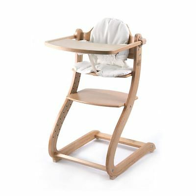 FIRST BABY SAFETY Chaise Haute en bois Caya Naturel
