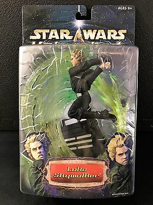 Star Wars Unleashed Luke Skywalker rare 2003 version; factory sealed, new, MISB