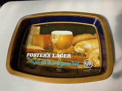 Vintage Fosters Lager Beer Tray